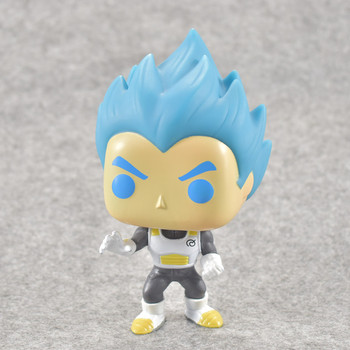 4 NOUL Stil Dragon ball Z figura Super Saiyan Trunchiuri Goku Super-Negru Vol. 2 din PVC Figura de Acțiune Jucarii Model