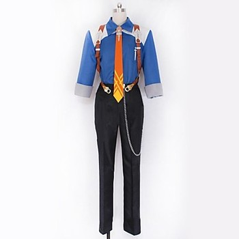 Anime Tales of Xillia 2 Ludger Va Kresnik Cosplay Costum
