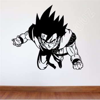 Benzi Desenate japoneze cu Dragon Ball Z de Perete Decal DBZ Goku Detașabil de Vinil de Perete Decal Goku Arta de Perete Camera Copii Decalcomanii de Perete B414