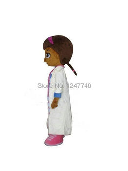 De înaltă calitate Doc McStuffins costum mascota Teddy adult mascota costum Cosplay Costum