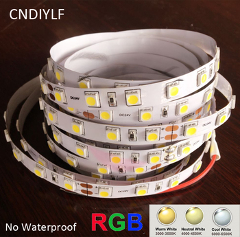Factory Outlet LED Strip 5050 24V 12V 3000K 4000K 6000K Disponibile Rapid de Transport maritim 300LED/5m 20-22lm/LED e-Mail de Aer de Transport maritim