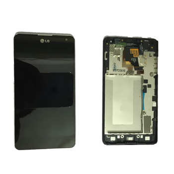 Original LG Optimus G E975 LCD LS970 F180 E971 E973 Display LCD Touch Screen Digitizer Asamblare Cu cadru de transport Gratuit