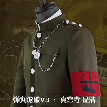 [Stock] Anime! Danganronpa V3 Shinguuji Korekiyo Original Uniforma De Folclorist Cosplay Costum Transport Gratuit
