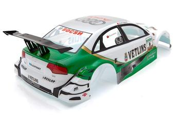 YUKALA 1/10 masina RC accessoriu 1:10 R/C masina de caroserie 190mm No013 verde 2 buc/lot transport gratuit